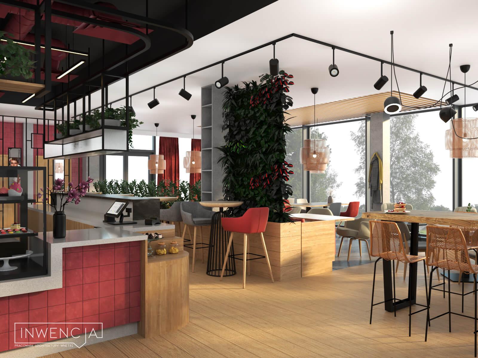 Restauracja w Tychach Dotychczas - wnętrze sali