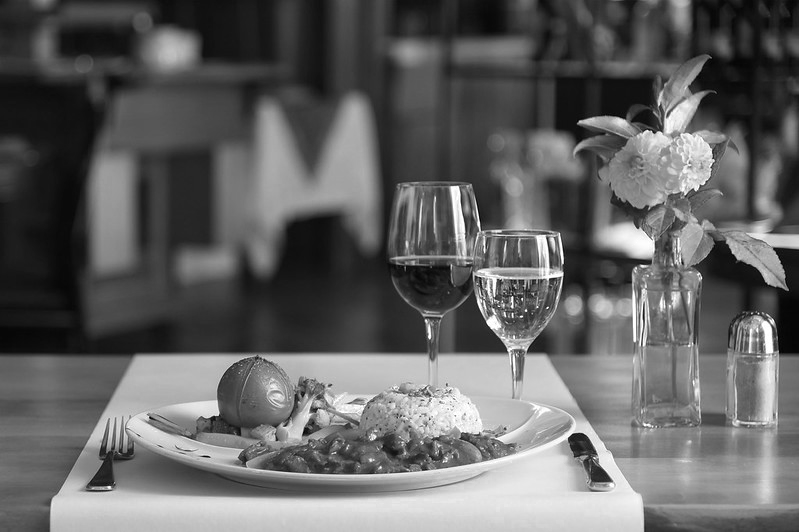 stypa - posiłek w restauracji w Tychach